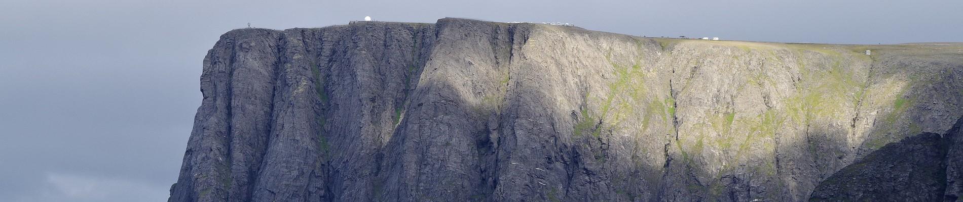 Blick aufs Nordkap-Plateau
